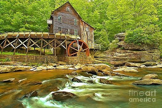 Adam Jewell - Rapids Under The Grist Mill