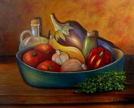 Ratatouile. SOLD by Susan Dehlinger