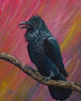 Dee Carpenter - Raven Study 2