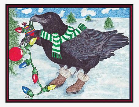 Ravens Holiday by Marla Saville
