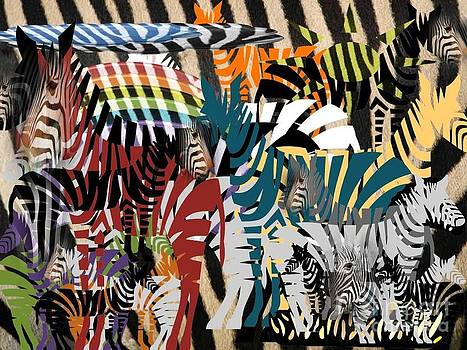 RAW Can You Find The Real Zebra How Many by Catherine Herbert