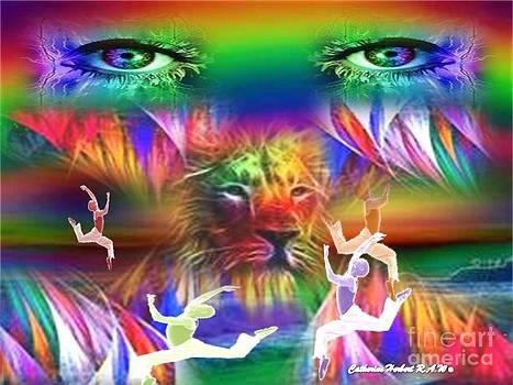 RAW Dance Of Lion EyeZ by Catherine Herbert