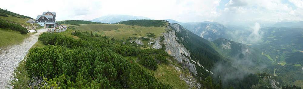 Rax Alps Austria panorama by Peter Szabo