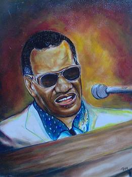 Ray Charles by James  Thompson