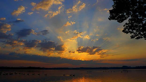Ray of Sunrise Light by Bob Lennox