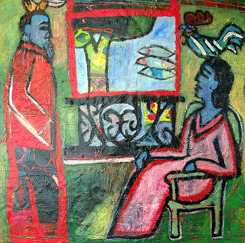 Recalling the Conversation by Matisse by Eria Nsubuga