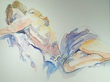 Reclining Figure by Jane Johnson