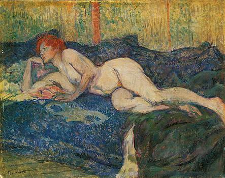 Henri De Toulouse-Lautrec - Reclining Nude