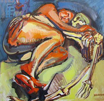 Reclining Pose of a Figure by Shant Beudjekian