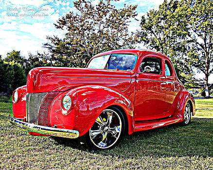 Randall Thomas Stone - Red 1940 Ford Deluxe Coupe