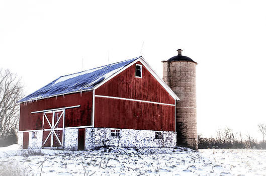 Joel Witmeyer - Red Afternoon Barn