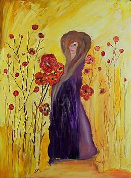 Red Anemones by Yaron Ari