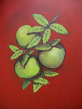 Red Apples by Timothy Hawkins