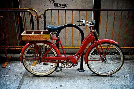 Red Bike by Matthew Keoki Miller