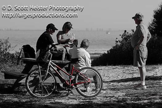 Red Bike by Scott Heister