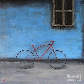 Red Bike by Steven Dopka