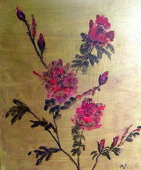 Red Blossom by Melynnda Smith
