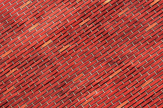 Red Brick Wall by Joelle Icard