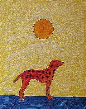 Red Dog by John Kovacich