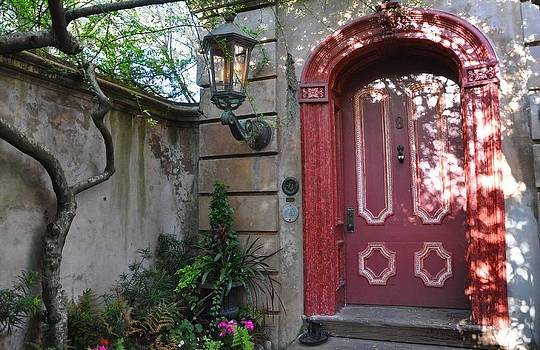 Red Door Charleston by Lori Kesten