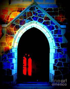 Red Door Church by Leela Arnet