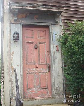 Red Door Number One by Catherine DeHart