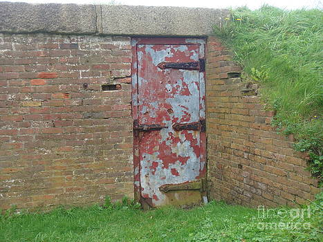 Red Door Number Two by Catherine DeHart