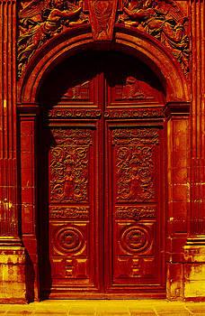 Red Door Paris by Donine Wellman