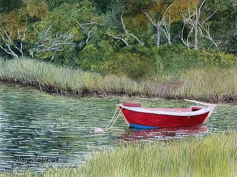 Red Dory by Sharon Farber