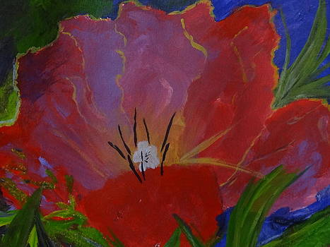 Nancy Fillip - Red Flower