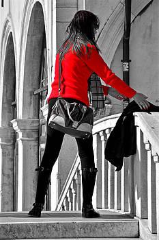Martina Fagan - Red Jumper