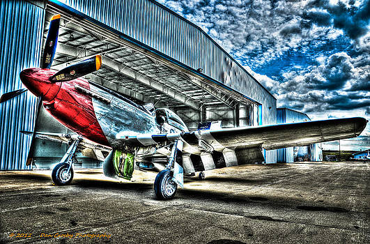 Red Nose P-51  by Dan Crosby