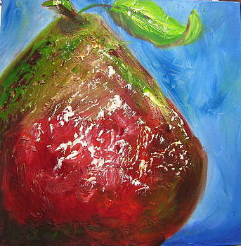 Red Pear by Jenell Richards