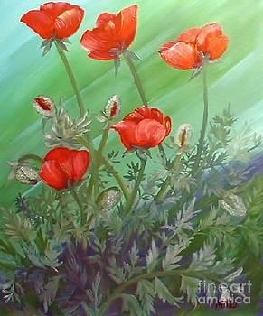 Peggy Miller - Red Poppys