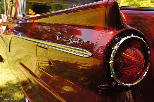 Mick Anderson - Red Ranchero and Round Taillight