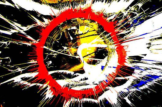 RED Ring by Artist Singh