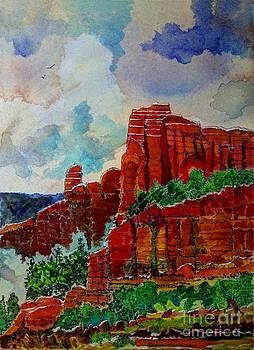 Red Rock Country Arizona by Donald McGibbon