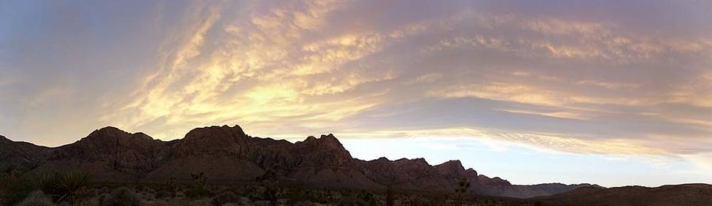 Red Rock Sunset by Jonathan Barnes