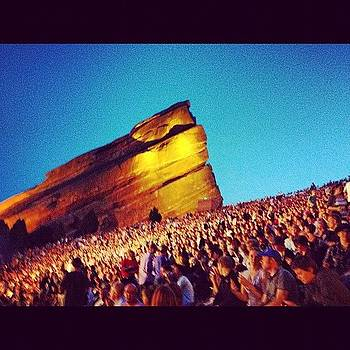 Red Rocks Amphitheater by Lauren Smith