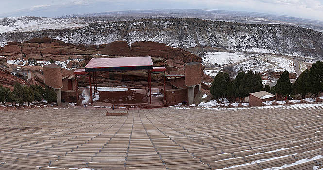 Red Rocks Amphitheatre by Bill Kennedy
