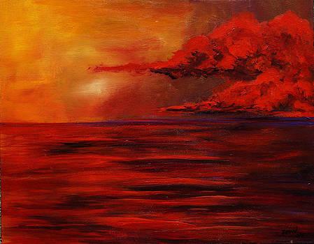 Red Sea at Dusk by Mary Jo Zorad