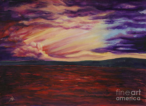 Red Sea Clouds by Shelly Leitheiser