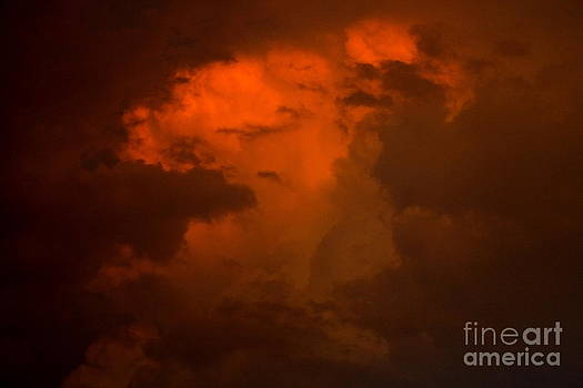 Red Sky at Night I by Christina A Pacillo