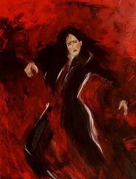Red Tango by Moldovan Oana