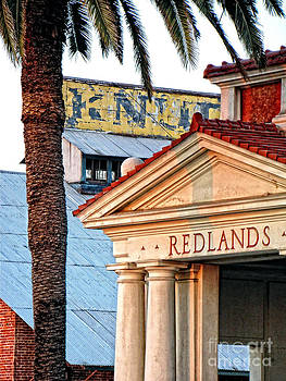Redlands Train Depot by David Ricketts