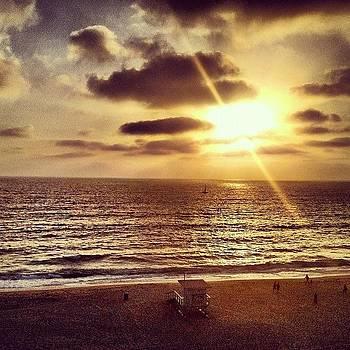 Redondo Beach Sunset by Chris Fabregas