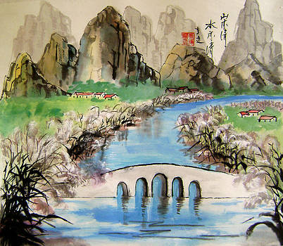 Reeds Edge by Lian Zhen