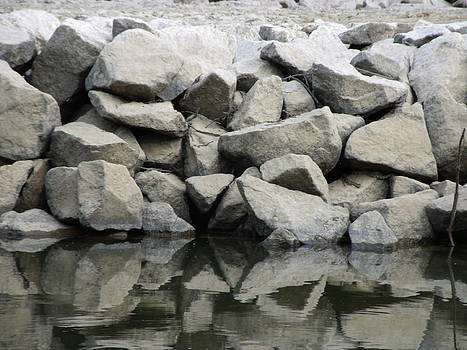Reflecting Rocks by Michelle Worring
