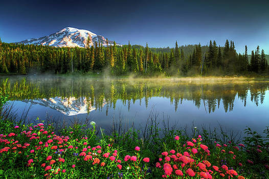 Reflection Lakes by William Freebilly photography