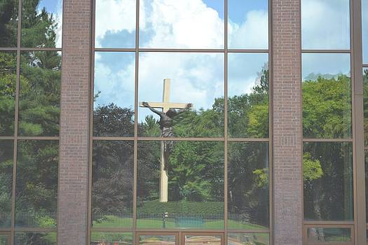 Reflection of Christ on the Cross by Ted Kitchen
